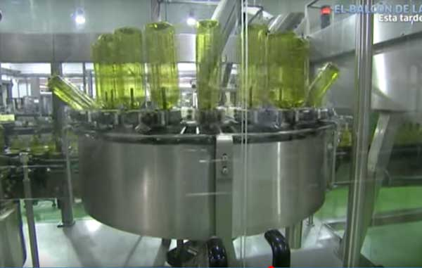 embotellado aceite de oliva