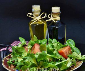 comida con aceite de oliva